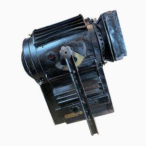 Französischer industrieller Scheinwerfer aus Eisen von Clemancon, 1920er