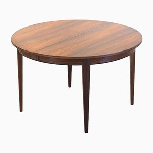 Danish Rosewood Model 55 Extendable Dining Table from Omann Jun, 1960s