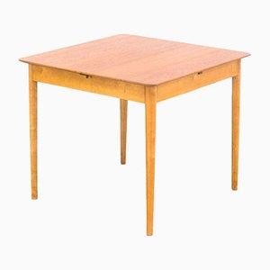 Tavolo da pranzo TB38 in betulla e teak di Cees Braakman per Pastoe, anni '50