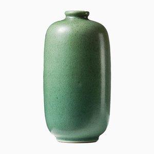 Schwedische Tobo Vase aus Steingut von Erich & Ingrid Triller, 1950er