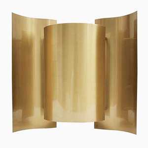 Mid-Century Brass W-3007 Butterfly Sconce by Sven Ivar Dysthe for Arnold Wiigs Fabrikker, 1963