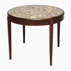 Table Basse en Palissandre et en Pierre par Arvid Hærem pour Sola Møbelfabrikk, 1960s