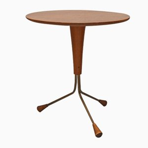 Copper and Teak Coffee Table by Albert Larsson for Alberts Tibro, 1959