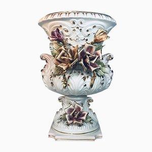 Vaso Mid-Century in porcellana, Italia, anni '60