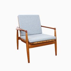 Dänischer SW 96 Sessel von Finn Juhl für Søren Willadsen Møbelfabrik, 1950er