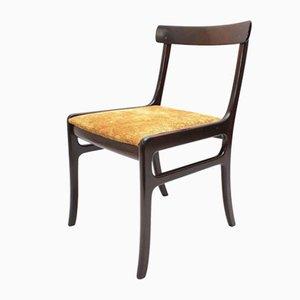 Chaise de Salle à Manger Rungstedlund en Acajou par Ole Wanscher, Danemark, 1950s