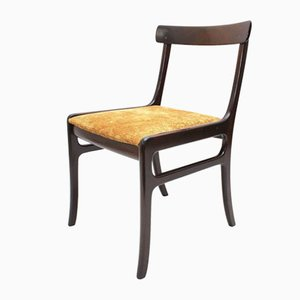 Danish Mahogany Rungstedlund Dining Chair by Ole Wanscher, 1950s