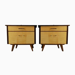 Mid-Century German Nightstands, 1970s, Set of 2
