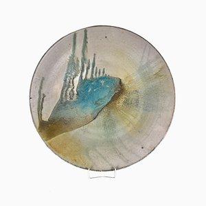 Swedish Ceramic Plate, 1960s