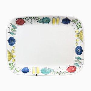 Scandinavian Modern Picnic Plate by Marianne Westman for Rörstrand