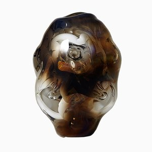 Vintage Swedish Glass Ina Vase by Per B. Sundberg for Orrefors, 1998