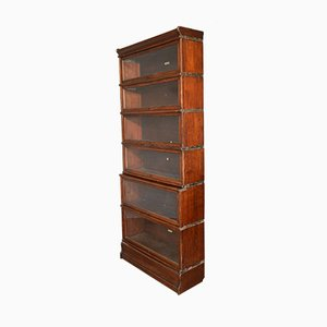 Antique Mahogany Stacking Bookcase from Globe Wernicke