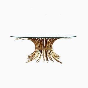 Tavolino da caffè in vetro e metallo di Robert Goossens, Francia, anni '70
