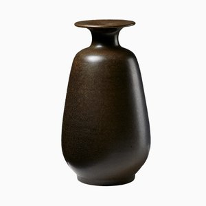 Swedish Stoneware Tobo Vase by Erich and Ingrid Triller, 1950s