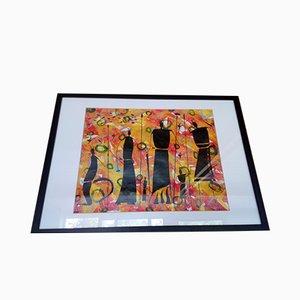 Peinture Les Gardiens par Willy Francis, 2000s