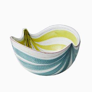 Modernist Stoneware Bowl by Stig Lindberg for Gustavsberg, 1950s