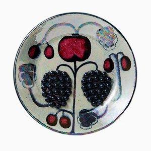 Stoneware Dish by Birger Kaipiainen, 1950s