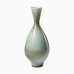 Vintage Modernist Stoneware Vase by Berndt Friberg for Gustavsberg, 1972
