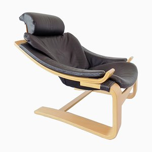 No. 59 Kroken Lounge Chair by Åke Fribytter for Nelo Möbel, 1970s