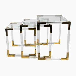 Vintage Nesting Tables by Charles Hollis Jones, 1970s