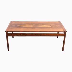 Modernist Rosewood Coffee Table by Sven Ivar Dysthe for Dokka Møbler, 1960s
