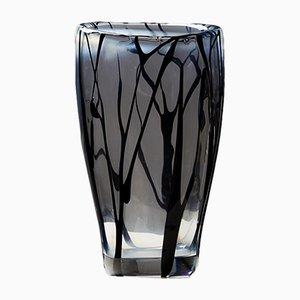 Mid-Century Glass Vase by Vicke Lindstrand for Kosta Boda, 1954