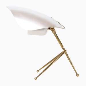 Tripod Brass Table Lamp from Stilnovo, 1952