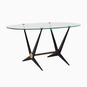 Table d'Appoint par Angelo Ostuni, Italie, 1950s