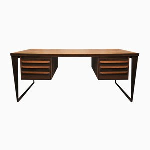 Danish Rosewood Desk by Kai Kristiansen for Feldballes Møbelfabrik, 1950s