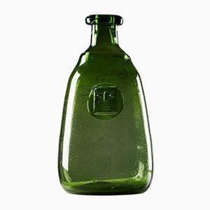 Mid-Century Glass Vase by Erik Höglund for Boda, 1950s