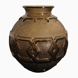Vintage French Ceramic Vase from Daum, 1930s