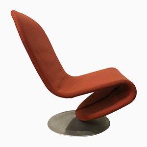 1-2-3 Serie Sessel von Verner Panton für Fritz Hansen, 1970er