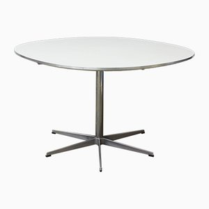 Round Pedestal Dining Table by Arne Jacobsen & Piet Hein Eek for Fritz Hansen, 1968
