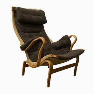 Danish Pernilla Armchair by Bruno Mathsson for Dux, 1960s