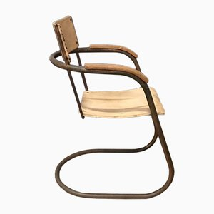 Tube Side Chair by Paul Kingma, 1930s