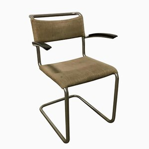 204 Chair Dining Chair by Willem H. Gispen for Gispen Culemborg, 1930s