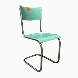 S43 Stuhl aus Türkisem Holz von Mart Stam für Thonet, 1930er