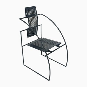 Italian Modern Steel Fifth Dining Chair by Mario Botta for Alias, 1980s