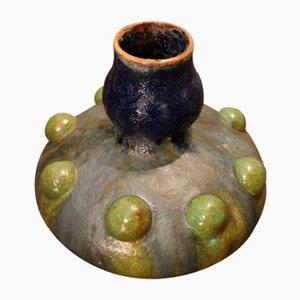 Vase Art Déco Vintage en Grès