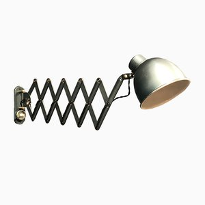 Mid-Century Aluminum and Steel Sconce, 1950s