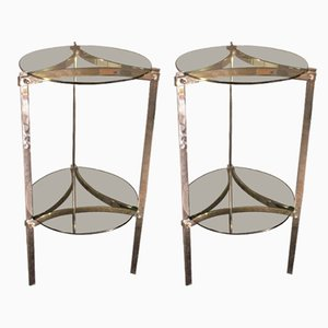 Vintage Side Tables, 1970s, Set of 2