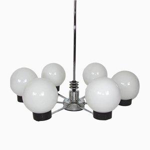 Lámpara de araña Bauhaus Mid-Century, años 50
