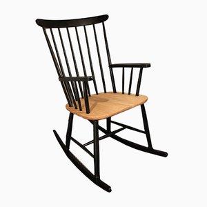 Rocking Chair en Teck par ilmari Tapiovaara, 1970s