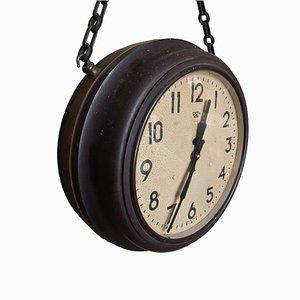 Uhr aus Bakelit & Messing von Smiths Sectric für Smiths Sectric, 1940er