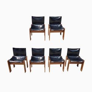 Monk Stühle von Tobia & Afra Scarpa für Molteni, 1974, 6er Set