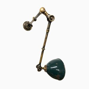Industrial Brass Sconce by John Dugdill & Co. Limited for John Dugdill & Co. Limited , 1920s