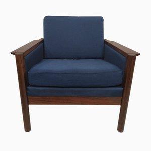 Dänischer Vintage Sessel mit Gestell aus Palisander, 1970er
