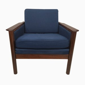 Vintage Danish Rosewood Lounge Chair, 1970s