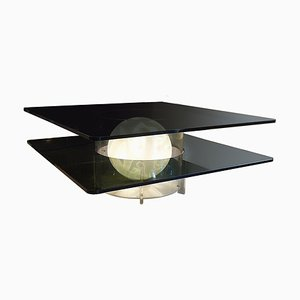 Mid-Century Italian Illuminated Coffee Table from Rima