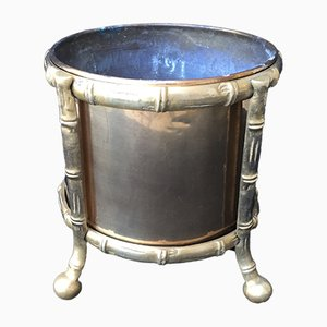 Mid-Century Modernist French Bronze Planter, 1960s